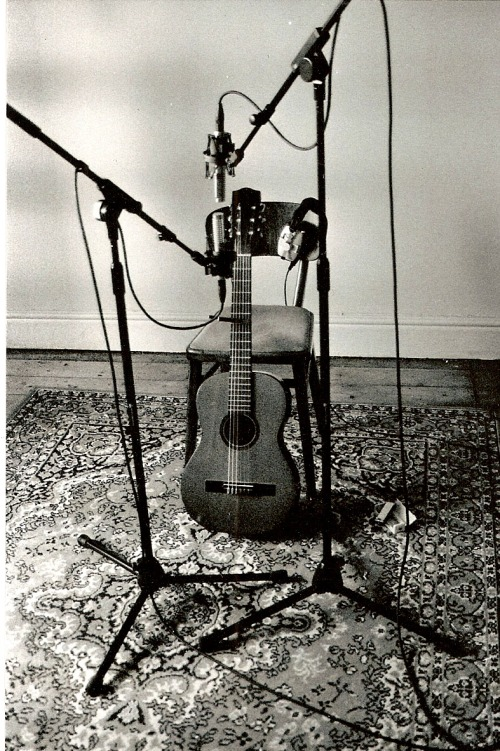 Guitar and mic